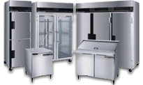 stainless icebox
